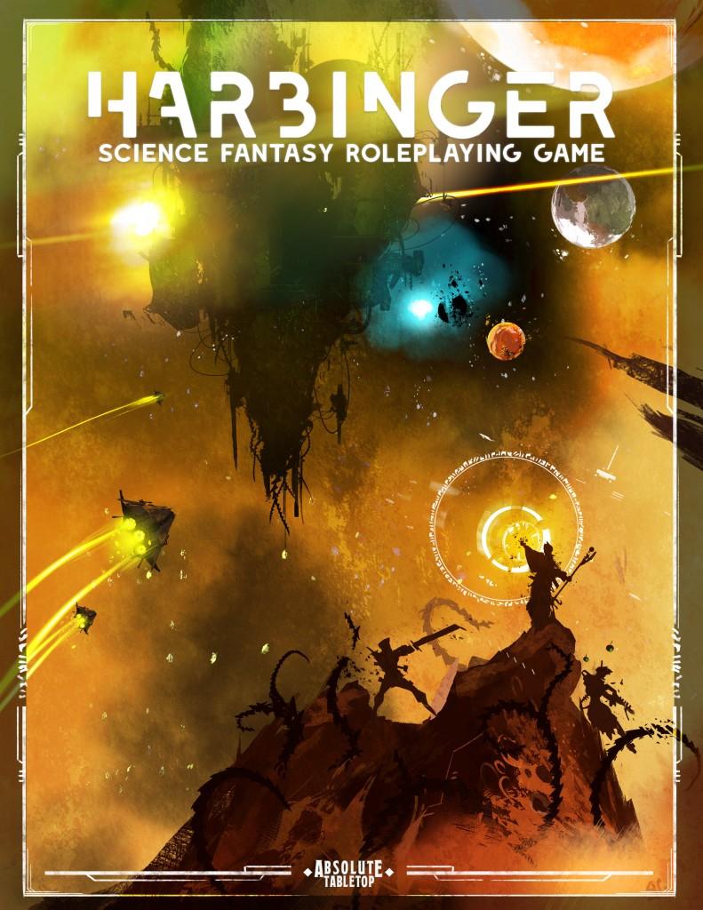 Harbinger Cover Title